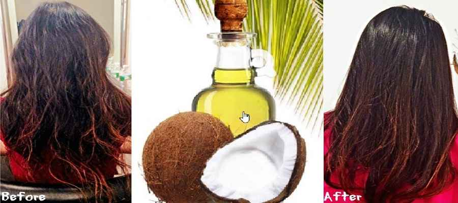 how to use Coconut Oil For Hair Growth after and befor