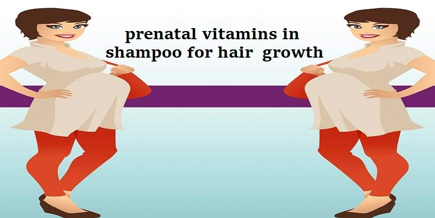 prenatal vitamins in shampoo for hair growth